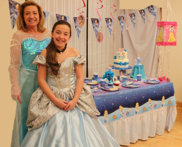 Fiesta de Cenicienta princesas