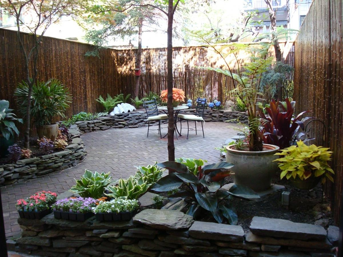 Backyard Patio Design Ideas to Accompany your Tea Time ... on Backyard Wall Decor Ideas  id=70459