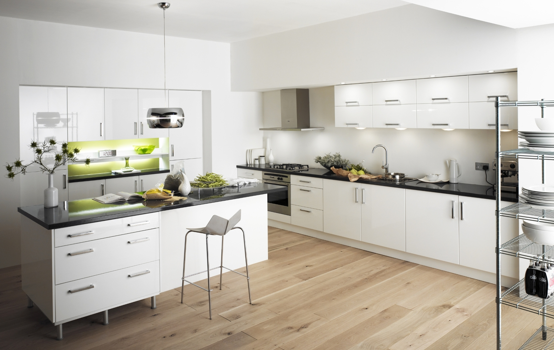 Simple Contemporary Kitchen Design Ideas for Your Lovely ... on Modern Kitchen Design Ideas  id=35747