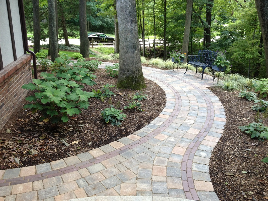 Garden Pathway Design Ideas with Some Natural Stones ... on Patio And Path Ideas  id=72411