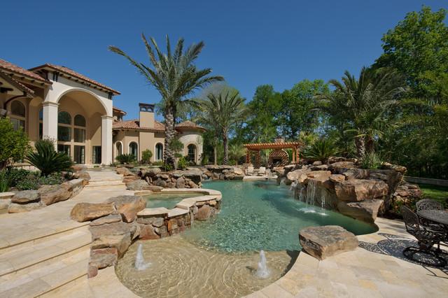 Custom Dream Homes with Luxury Pool and Garden | Ideas 4 Homes on Dream Backyard Ideas id=86441