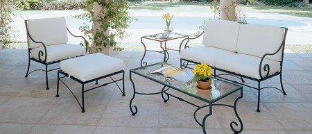 4 advantages of wrought iron patio furniture   Ideas 4 Homes Elegant Wrought Iron Furniture