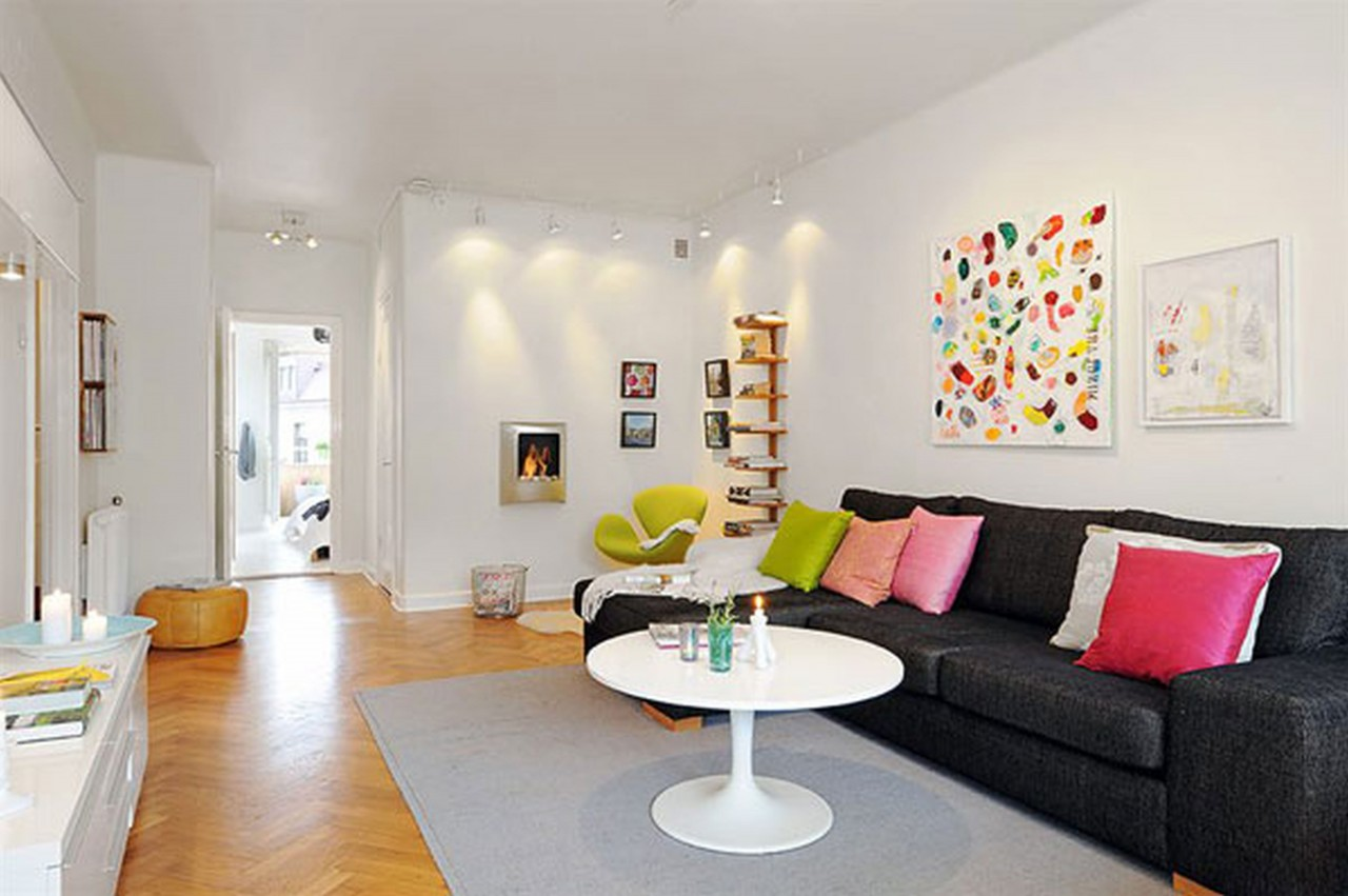 Fun and Bright Living Room Color Ideas Wrapping Comfort ... on Fun Living Room Ideas  id=56309
