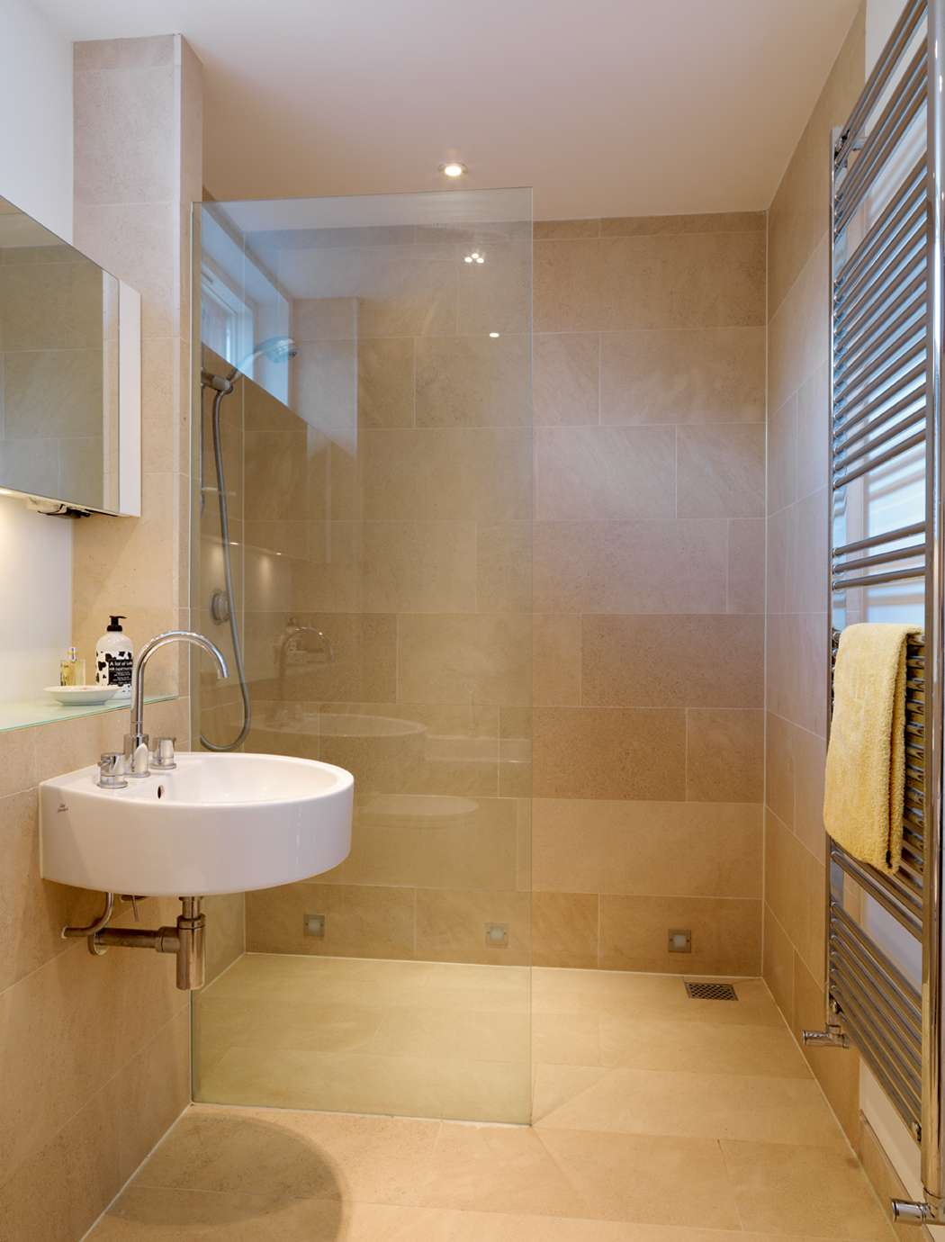 Stylish Small Bathroom Design Ideas for a Space-Efficient ... on Bathroom Designs For Small Spaces  id=33657