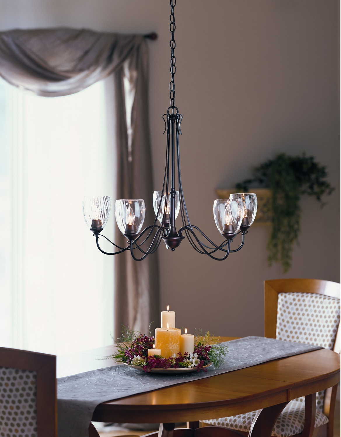 Spectacular Glass Chandelier Shades For More Elegant