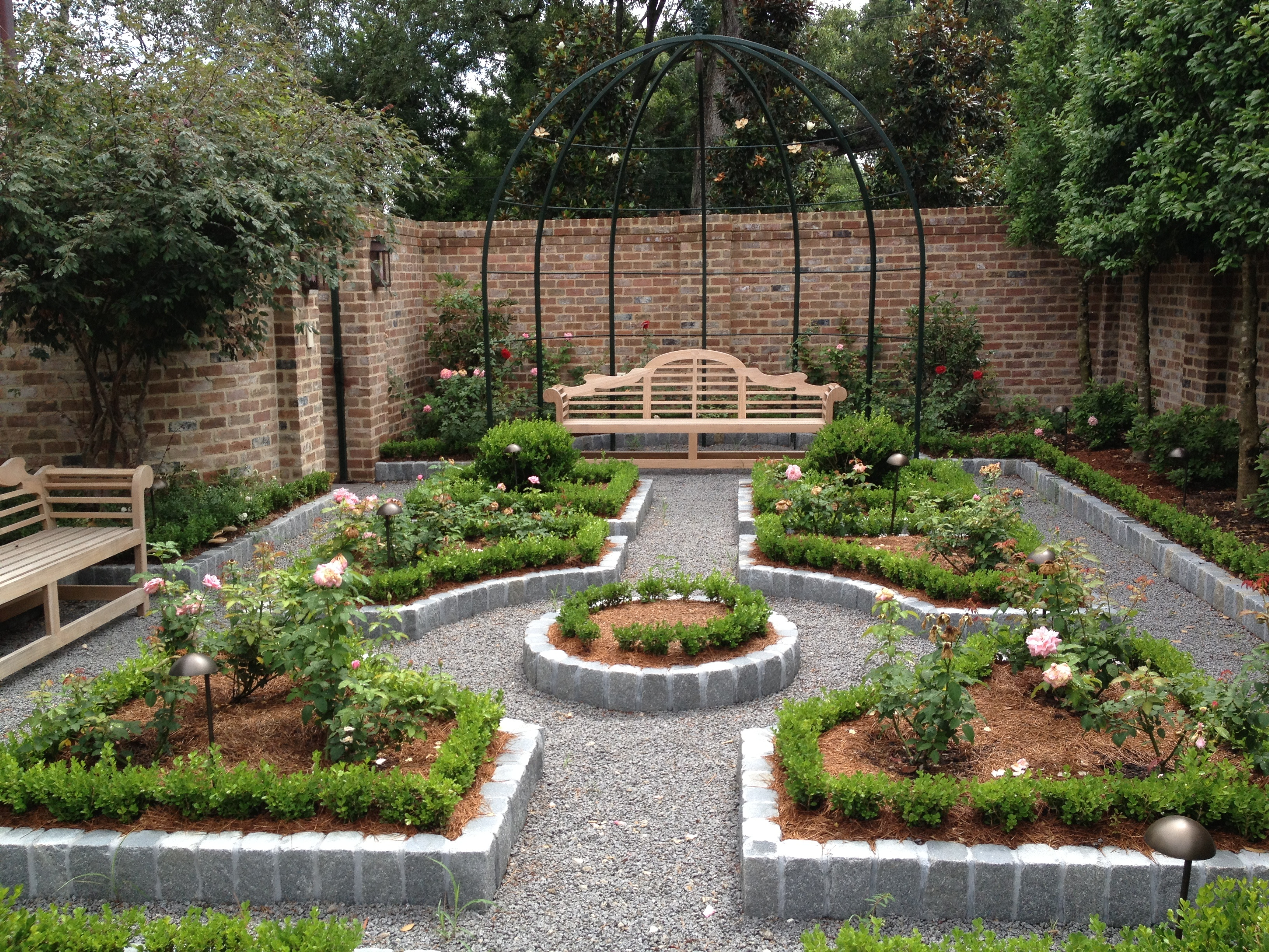 Outdoor Raised Vegetable Garden