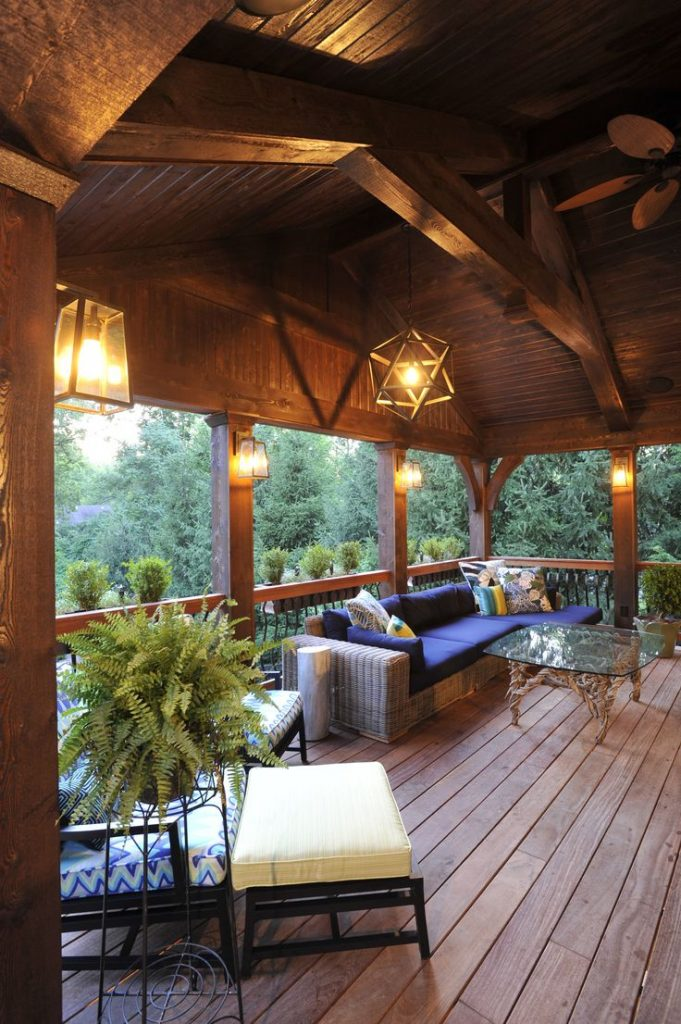Cozy Outdoor Living Spaces Connecting You with Mother ... on Enclosed Outdoor Living Spaces  id=57268