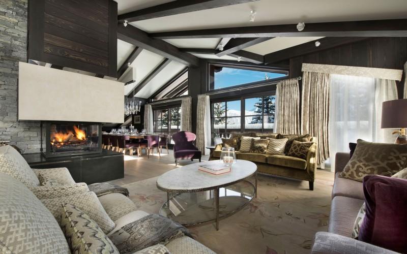 Luxury Ski Chalet in Courchevel