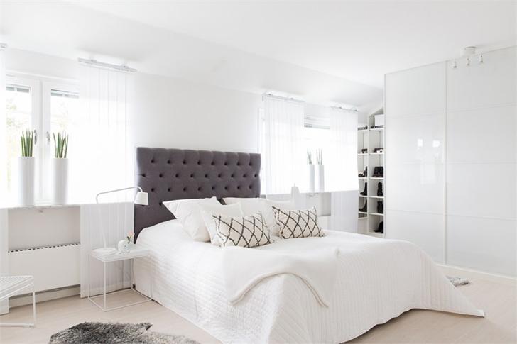 Black and White Interior in Sweden