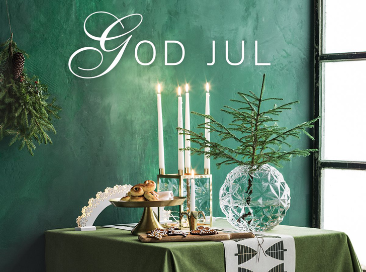 Emerald New Year in Sweden