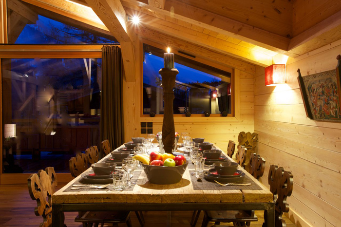 Ardoise Chalet in the Alps