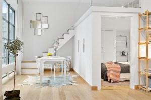 Loft-Studio in Stockholm