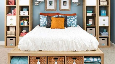 10 Bed Storage Ideas