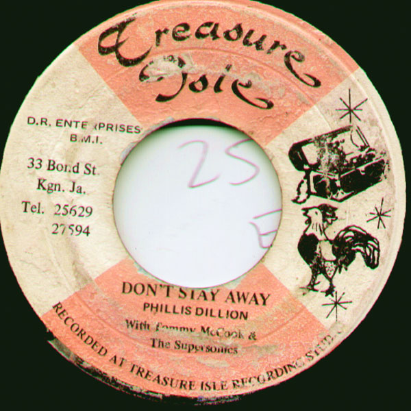 Label, Phyllis Dillon - Don't Stay Away