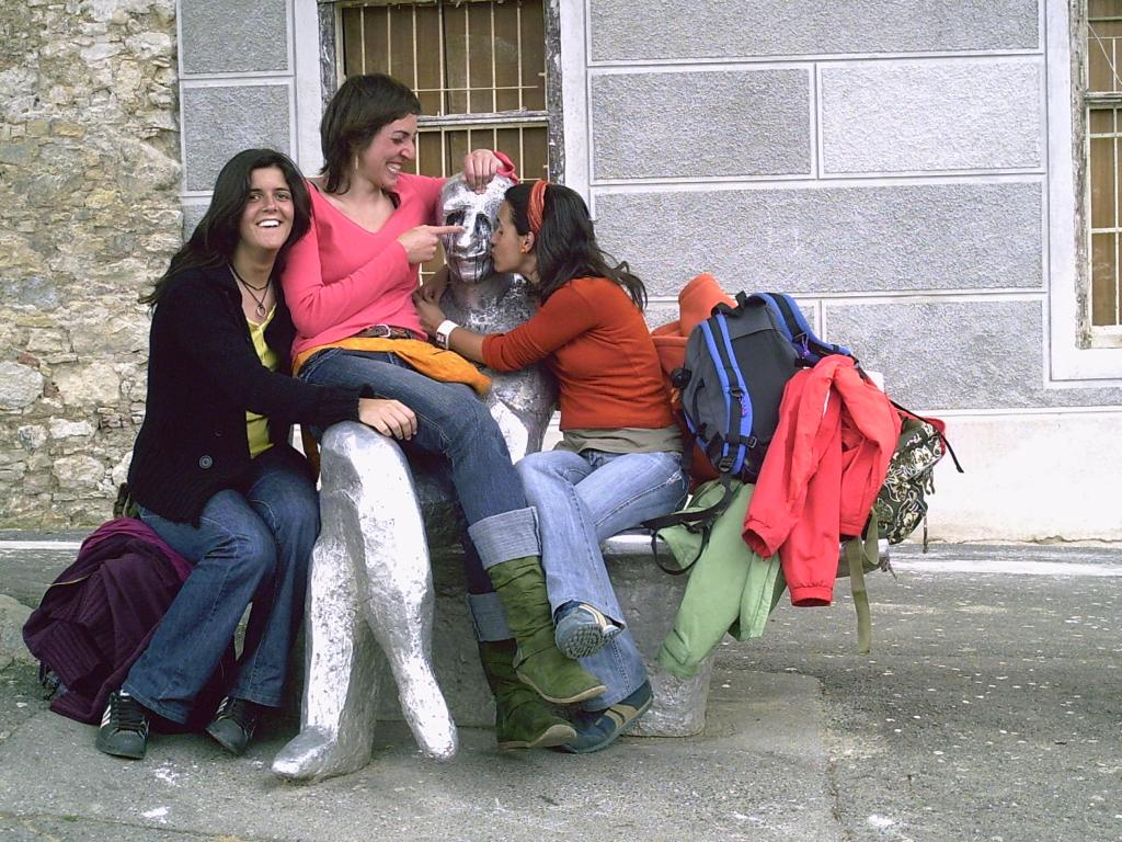 Con Irina y Laura en Croacia 2006 (Ideas on Tour)