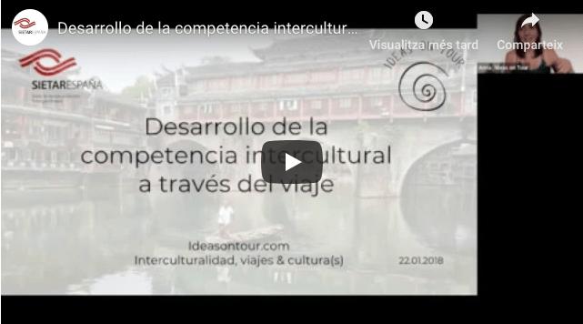 Interculturalidad y viajes (SIETAR e Ideas on Tour)
