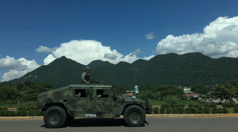 Militarización frontera Mexico (Ideas on Tour , Anna Rodriguez Casadevall)