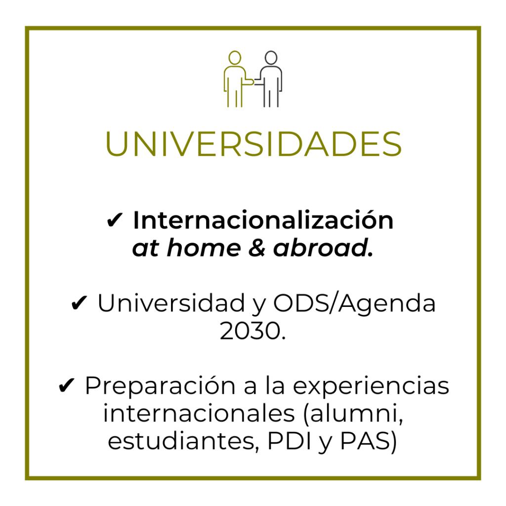 Universidades (Ideas on Tour)