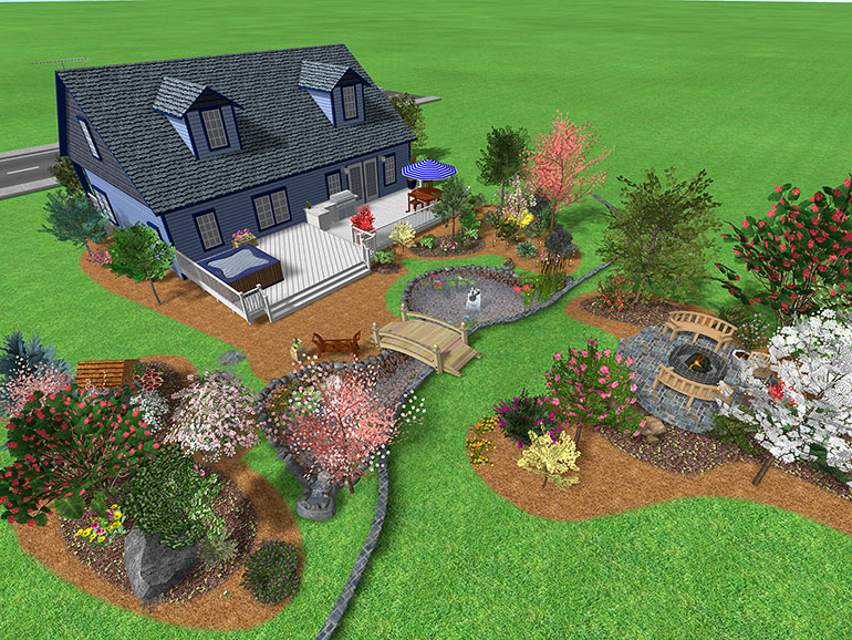 Landscape Design Software Gallery - Page 1 on Big Backyard Landscaping Ideas id=57229