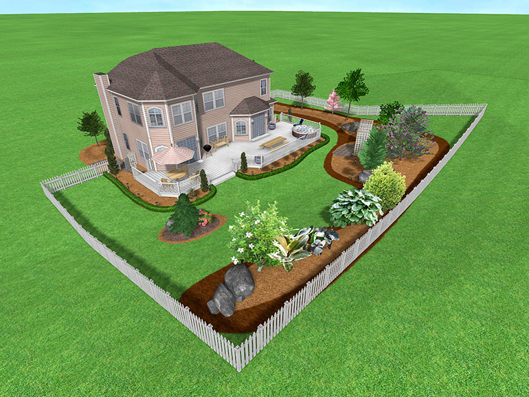 Landscape Design Software Gallery - Page 5 on Big Backyard Landscaping Ideas id=41932