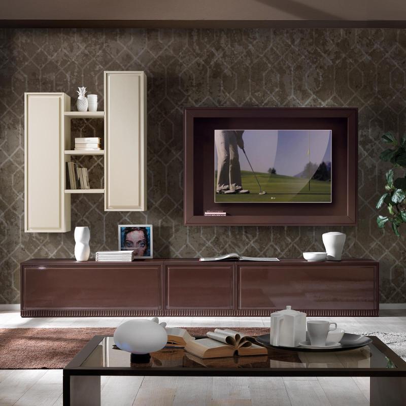 Un ambiente soggiorno da arredare cercando di evocare lo stile classico decò amato dai. Mobile Soggiorno Marte In Stile Classico Contemporaneo