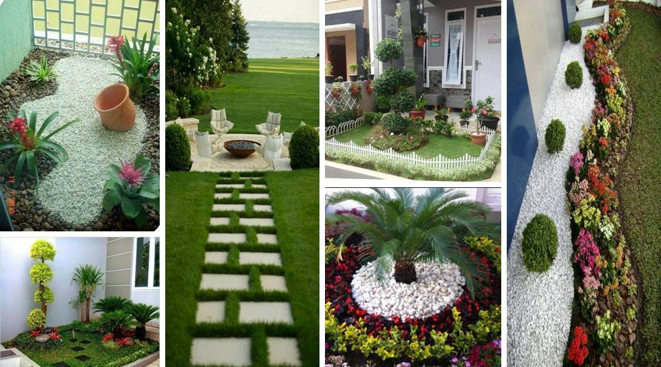 DIY Small Entrance Garden Decorating Ideas of Your House ... on Garden Decor Ideas  id=33014