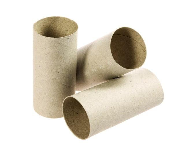 Ideas para reciclar los tubos de papel higi nico ideas for Accesorio para papel higienico