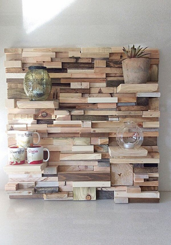 DIY Pallets Wall Art Ideas for Homes - Ideas with Pallets on Pallet Design Ideas  id=58012