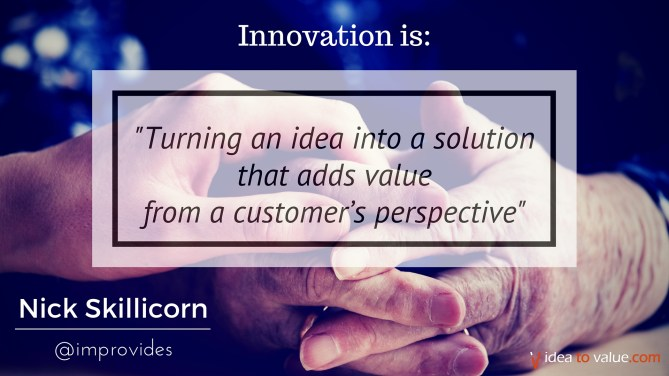 9b00017f338a Turning an idea into a solution that adds value from a customer s  perspective