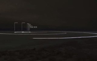 to scale solar system