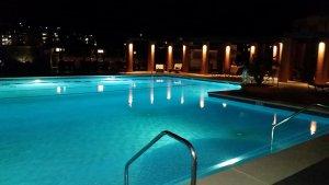 Hyatt pool in San Diego