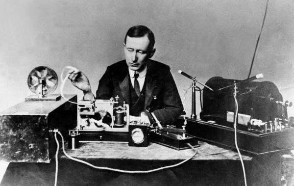 Guglielmo Marconi radio