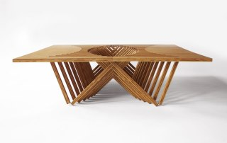 folding table by Robert van Embricqs