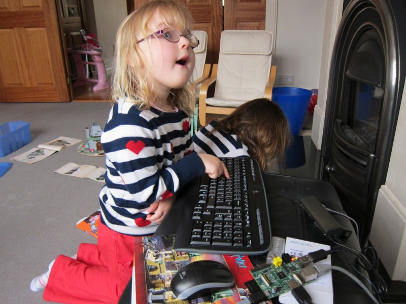 Giving children a cheap PC like the Raspberry Pi to learn and experiment on