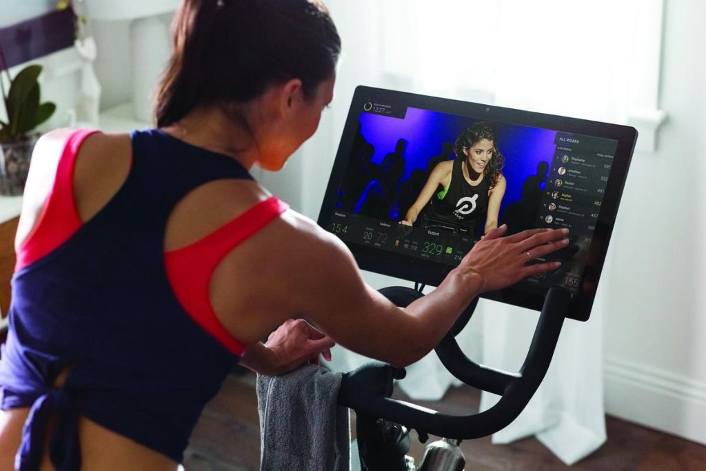Peloton brings exercise classes into the home