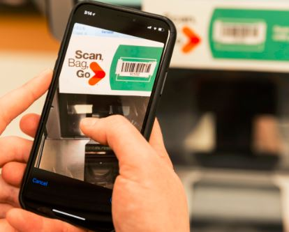 Scan your own groceries with the Scan-Bag-Go app