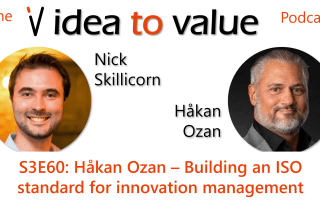 Podcast S3E56: Hakan Ozan - Building an ISO standard for innovation management