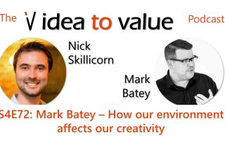 Podcast S4E72: Mark Batey – How our environment affects our creativity