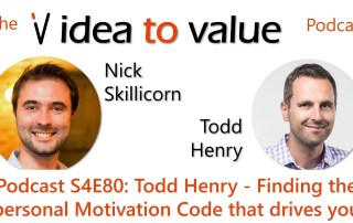 Podcast S4E80: Todd Henry - Finding the personal Motivation Code that drives you