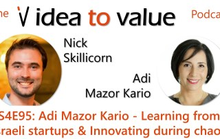 S4E95 Adi Mazor Kario - Learning from Israeli startups & Innovating during chaos