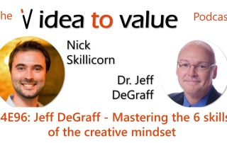 Podcast S4E96: Jeff DeGraff - Mastering the 6 skills of the creative mindset