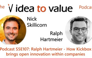 Podcast Podcast S5E107: Ralph Hartmeier - How Kickbox brings open innovation within companies