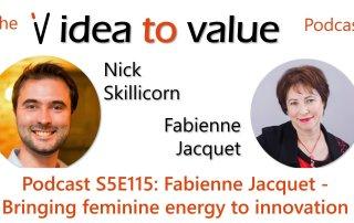 Podcast S5E115: Fabienne Jacquet - Bringing feminine energy to innovation