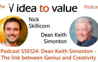 Podcast S5E124: Dean Keith Simonton - The link between Genius and Creativity