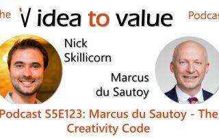 Podcast S5E123: Marcus du Sautoy - The Creativity Code
