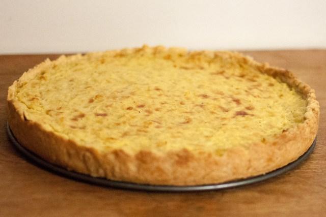 tarte à l'oignon alsacienne