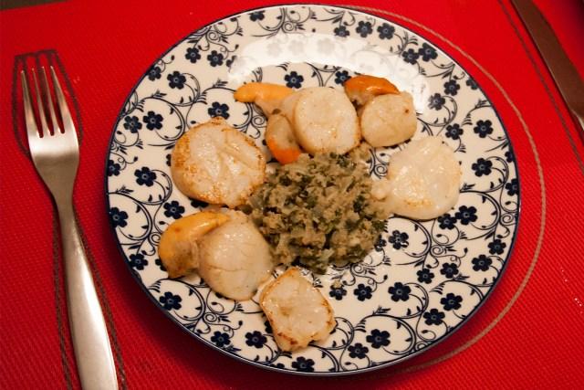 assiette de Saint-Jacques
