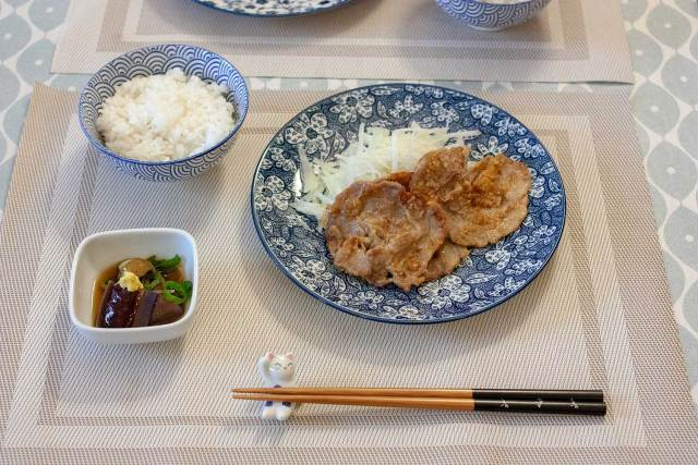 porc grillé au gingembre