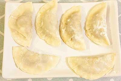 gyoza avant cuisson