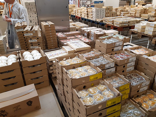 cartons de fromages